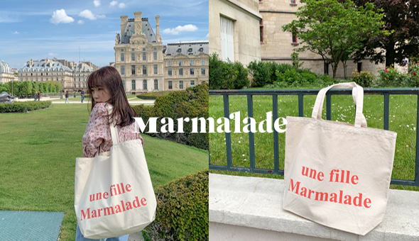 Marmalade♥.Une Fille eco bag